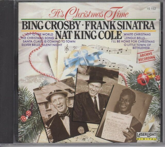 It's Christmas Time Bing Crosby Frank Sinatra Nat King Cole Music CD (1991)