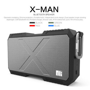 Portable-Heavy-Duty-Waterproof-Stereo-Wireless-Bluetooth-Speaker-with-Powerbank