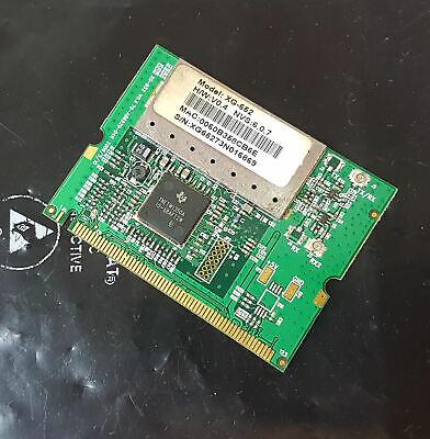 Tnetw Wlan Wifi Xg-652 Ck-603019 Mini Pci Network Card-mostra Il Titolo Originale Styling Aggiornato