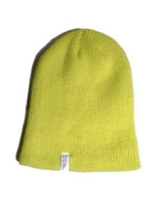 7a95980d79b Image is loading Coal-The-Frena-Solid-Beanie-Flourescent-Yellow