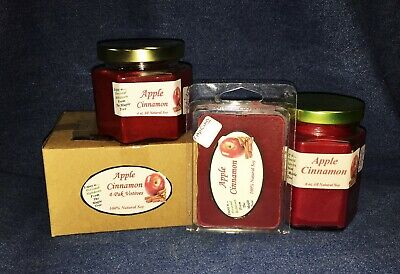 Tarts /& Votives Falling Leaves NEW Hand Poured Fall Autumn Scents Soy Candles