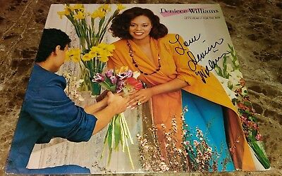 Deniece Williams Music Legend Signed Autographed Album Cover W/coa Authentic A Carefully Selected Materials Rock & Pop