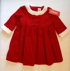 Dress 2t mountain cabin christmas holiday red corduroy nwt ebay