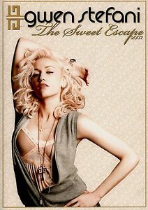 GWEN-STEFANI-2007-SWEET-ESCAPE-TOUR-CONCERT-PROGRAM-BOOK-BOOKLET-NO-DOUBT