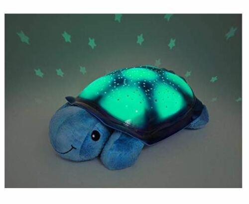 STORE DEMO Cloud b Twilight Turtle Blue Plush Nightlight Projector Free S//H