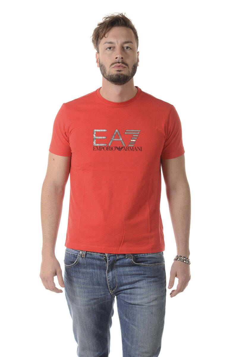 Emporio Armani EA7 T hemd schweißhemd Man rot 6YPT56PJ30Z 1541 Sz M MAKE OFFER
