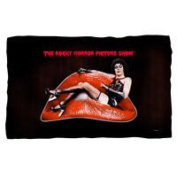 Rocky Horror Picture Show Frank Lips Fleece Blanket