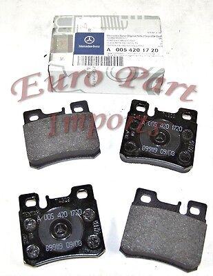 NEW Mercedes W124 R129 W202 W210 Brake Pad Set Rear OEM TEXTAR 005 420 17 20