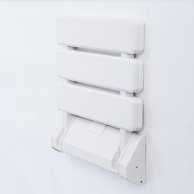 Duschsitz Badestuhl Duschhilfe Klappsitz Duschstuhl Wandmontage Wandstuhl 130kg