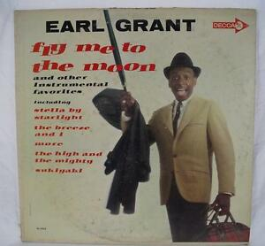 Vintage-Earl-Grant-Fly-Me-To-The-Moon-LP-Vinyl-Record-DL-4454