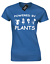 POWERED-BY-PLANTS-LADIES-T-SHIRT-VEGETARIAN-VEGAN-MEME-FASHION thumbnail 9