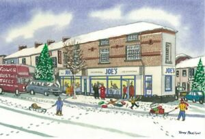 Joe's Ice Cream Swansea Christmas Card - Tony Paultyn