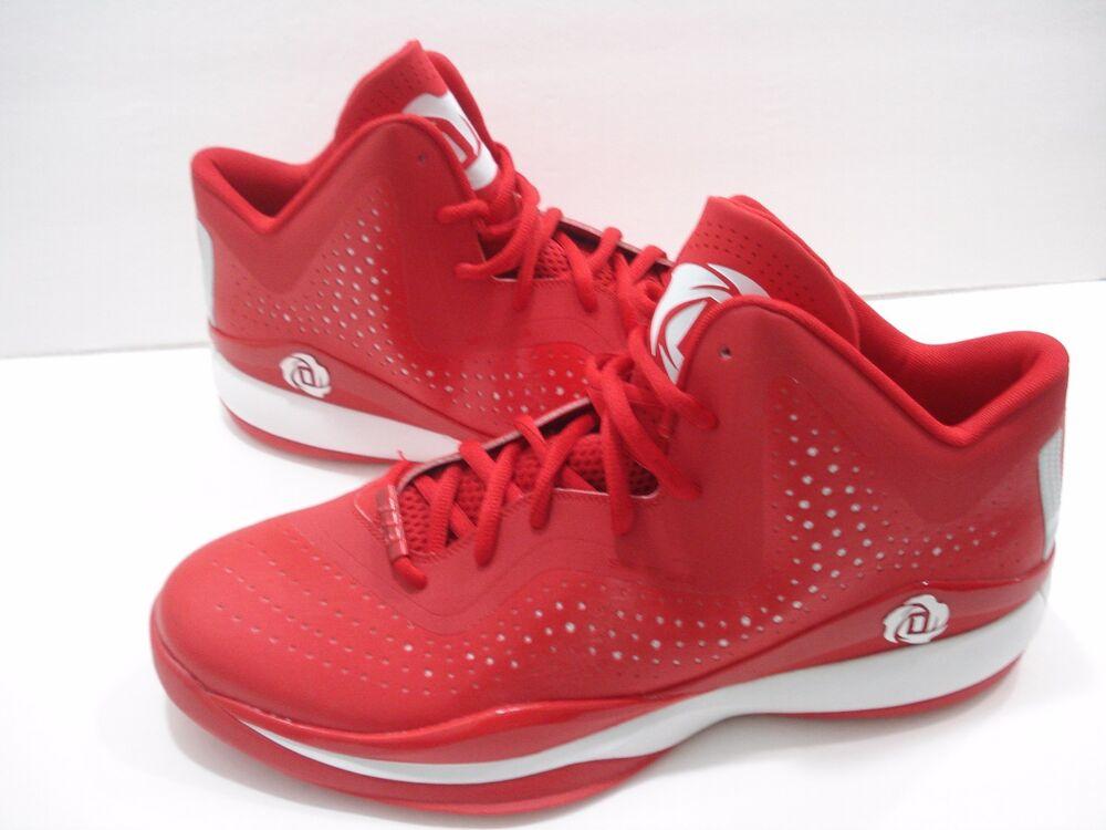 Adidas SM D III Rose  III D S Derrick rouge homme NEW Basketball 18f286