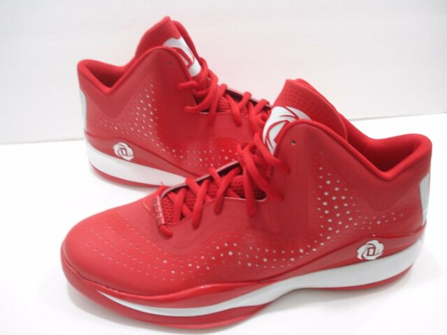 4f1bc481aae Adidas SM D Rose 773 III S84348 Derrick Red Men s Basketball Shoes Size 17  NEW