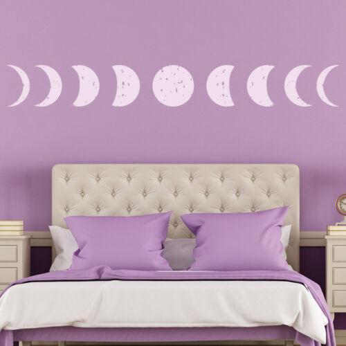 Vollmond Wandtattoo Mond Phase Wand Sticker Planeten Platz Wohnkultur