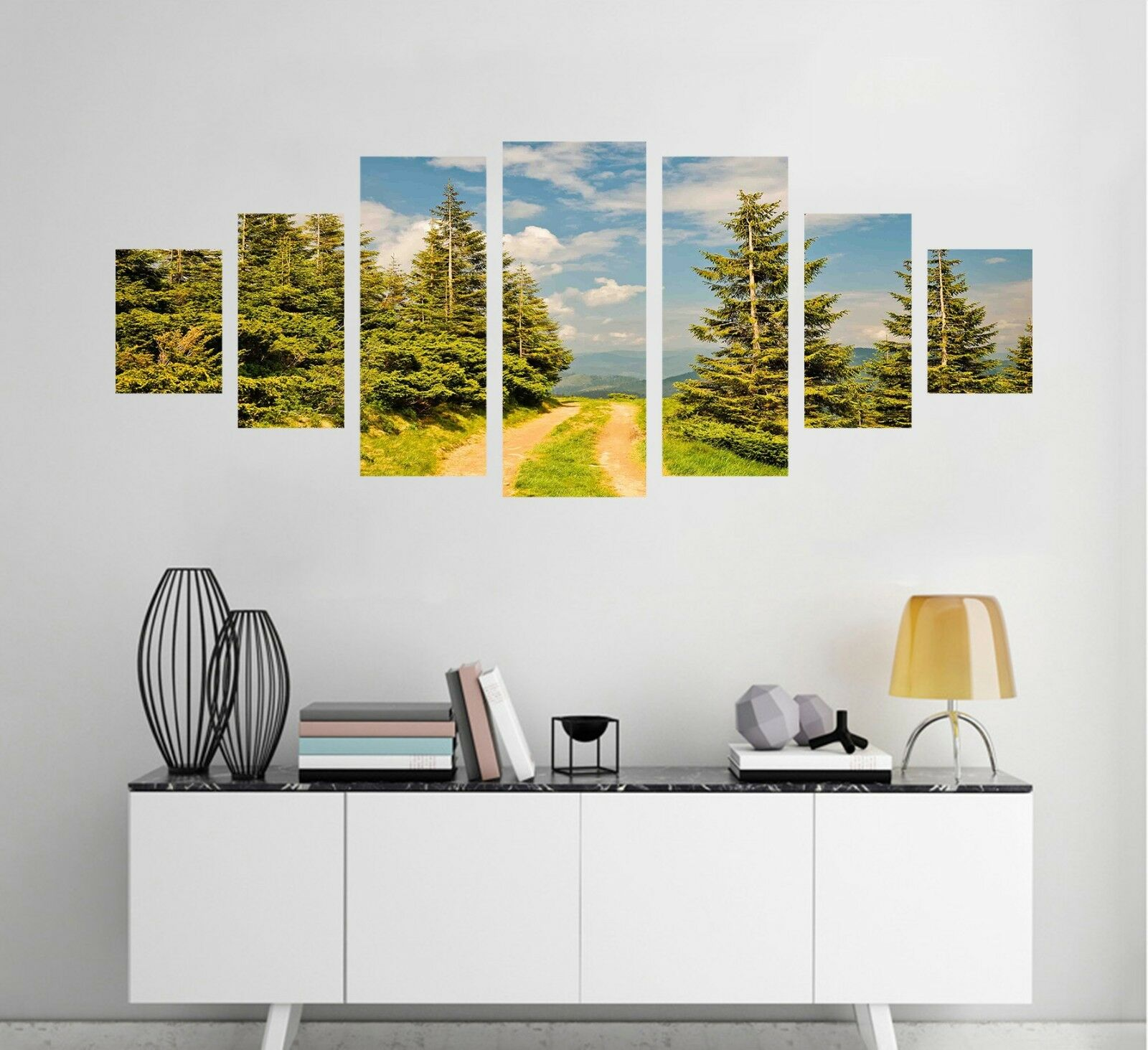 3D Aisle Forest 554 Unframed Print Wall Paper Decal Wall Deco Indoor AJ Wall