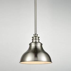 Details About Pendant Lighting For Kitchen Island Brushed Nickel Rod Hanging Light