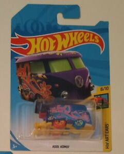 Hot Wheels 4 KOOL KOMBI VW Bus Lot Purple Treasure Hunt
