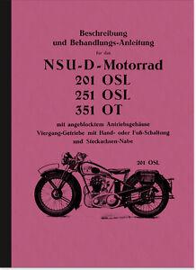 NSU-201-OSL-251-OSL-und-351-OT-Bedienungsanleitung-Betriebsanleitung-Handbuch