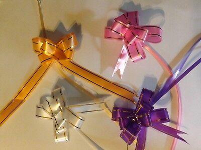 Systematisch 90 X Zugschleifen Geschenkschleifen Schleifen 9 Verschiedene Farben Jade Weiß