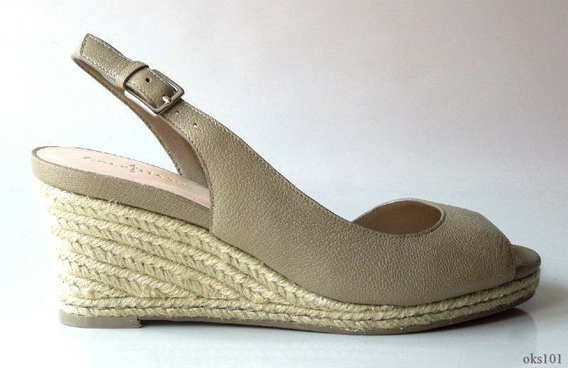 New COLE HAAN Air 'Adelaide' khakis taupe WEDGES schuhe 7.5 - GREAT STYLE