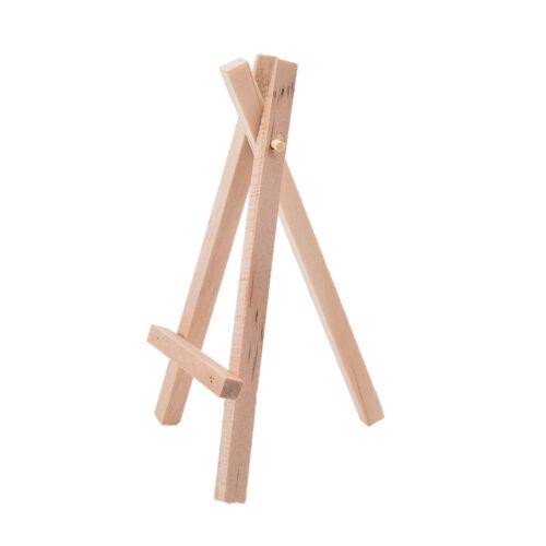 1x Mini Holz Kunst Halter Kunstwerk Display Tischplatten Staffeleien Zeichenplat