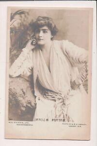 Vintage-Postcard-Cora-Urquhart-Brown-Potter-American-Stage-Actress-Society-Maven