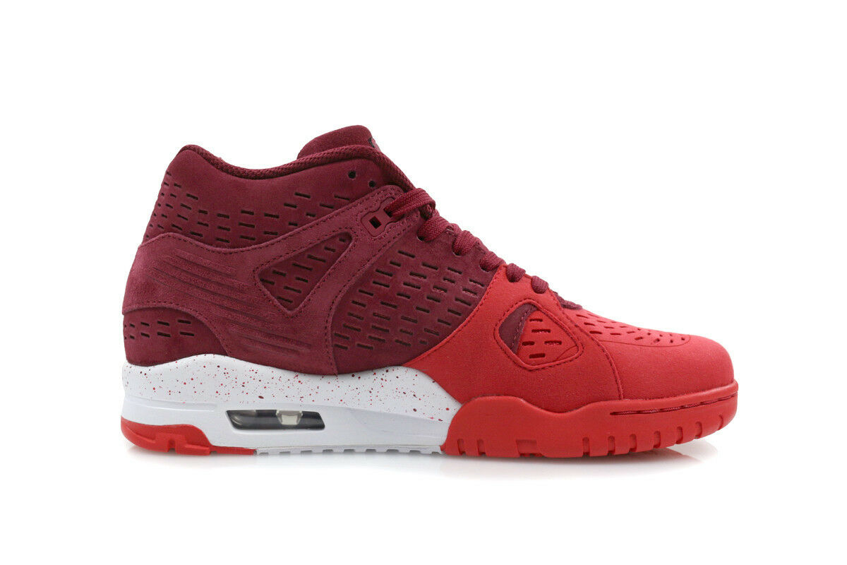 Nike Air Trainer 3 LE Men's Shoes Team Red University White 815758 600 Mens New