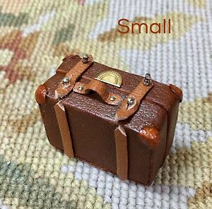 Image Is Loading Pat Tyler Dollhouse Miniature Bag Luggage Suitcase Satchel