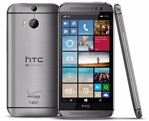 Details about HTC One M8 6995L 32GB Gray Verizon Wireless 4G LTE Windows  Smartphone