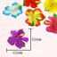 Artificial-Silk-Hibiscus-Flower-Leaves-Luau-Hawaiian-Island-Theme-Party-Supplies thumbnail 2