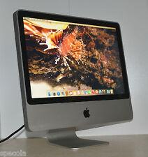 """Apple iMac 20"""" 2.66 GHz C2D 1TB 4GB RAM OSX 10.11 Wi-Fi Warranty 9.1  (AM+)"""
