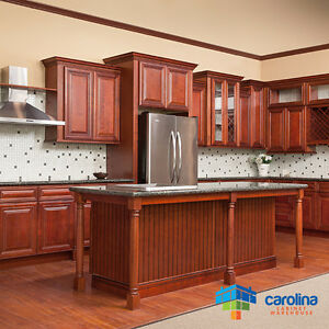 Image Is Loading Cherry Cabinets All Solid Wood 10x10 Rta