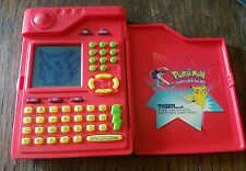 1999 Pokemon Pokedex by Tiger Handheld Electronic Original Works!