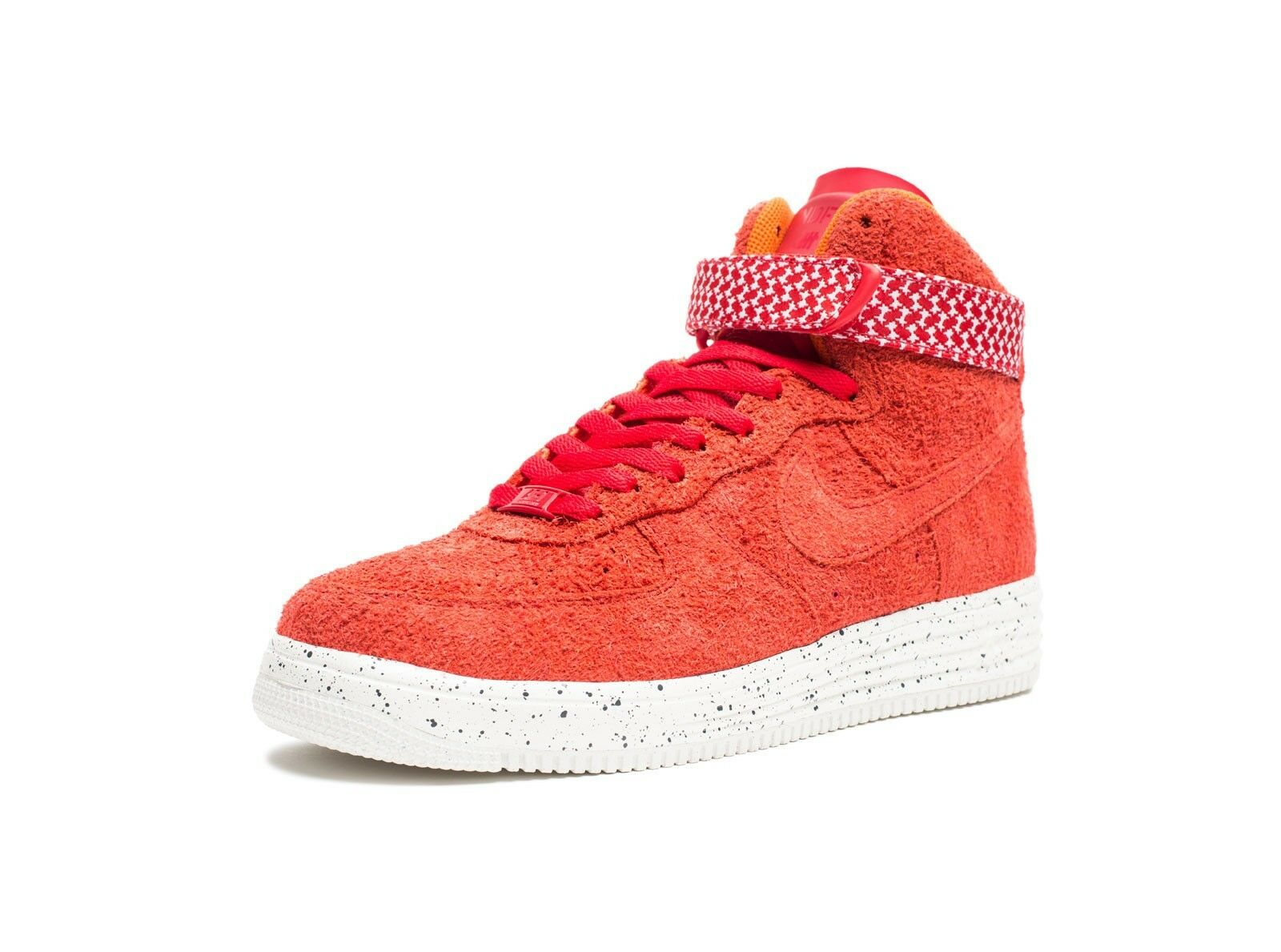 Nike Air Lunar Force One High SP Undefeated 8 University Red UNDFTD Supreme Foam
