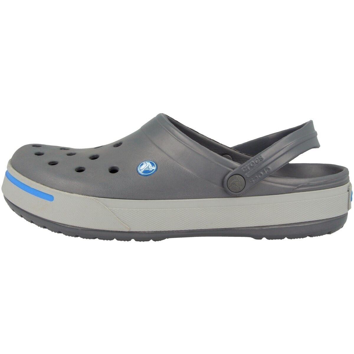 Crocs Carbón Crocband ii Zueco Sandalia Carbón Crocs Gris Claro 11989-01w Zapatos zapatillas f2ab9c