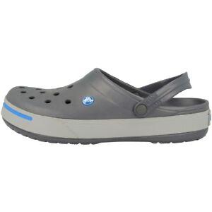 Crocs-Crocband-ii-Zueco-Sandalia-Carbon-Gris-Claro-11989-01w-Zapatos-zapatillas
