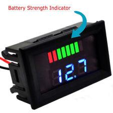 Car Led Digital Voltmeter Marine Motorcycle Voltage Meter Battery Gauge Dc6 100v