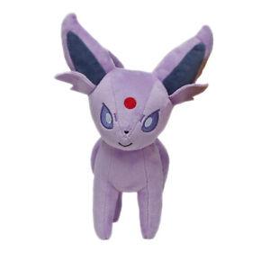 Pokemon-Espeon-Evolution-Eevee-Figures-Plush-Toy-Stuffed-Doll-7-039-039-Kid-Baby-Gift