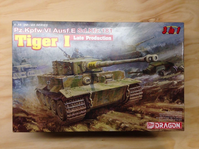 Dragon Models - Tiger I Late Production (1 35)