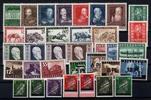 P126412-AUSTRIA-1937-1948-MINT-MNH-SEMI-MODERN-LOT-CV-230