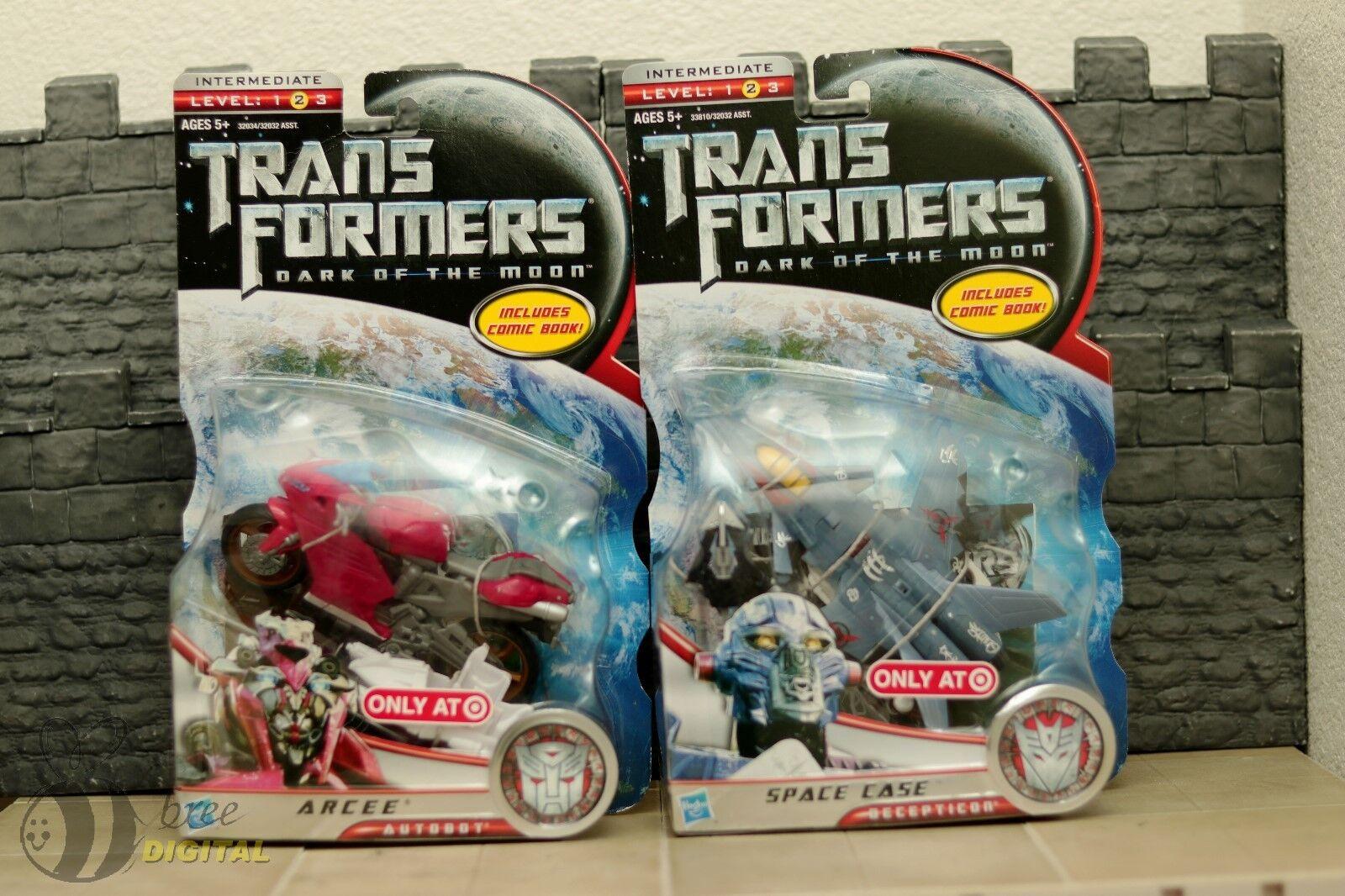 Transformers DOTM Arcee & Space CaseTarget Exclusive lot