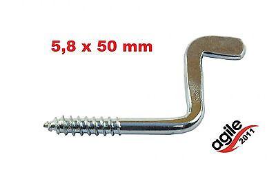 Business & Industrie Baugewerbe 1 Stück Vorreiber Riegel Beschläge Sicherung Hasenstall Reiber Windhaken 5,8 X50