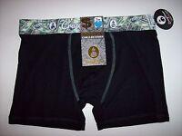 Crazy Boxer Underwear Mens Boxer Briefs 1 Pr Money Graphic Select Sz