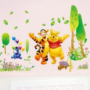 Wandtattoo Baum Aufkleber Sticker Kind Wohn Zimmer Deko Winnie Pooh ...