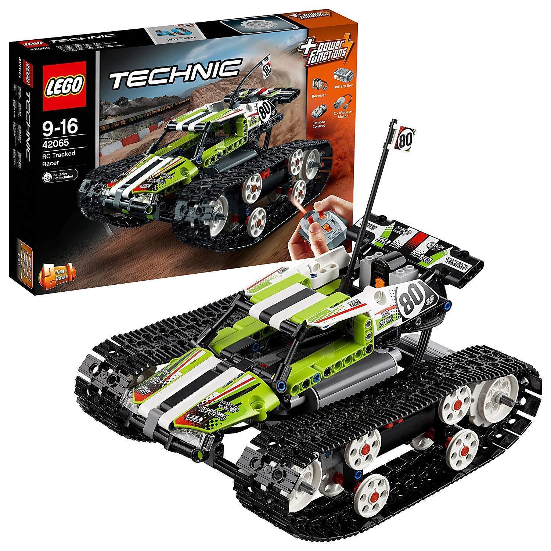 LEGO 42065  RC CINGOLATA Racer Edificio Giocattolo costruire e guidare telecomando auto