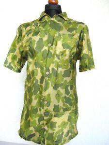 Duckhunter Camo Shirt Hawaii Chemise Parachute Soie Paracord Matériau Us Army Wk2-e Parachute Material Us Army Wk2afficher Le Titre D'origine