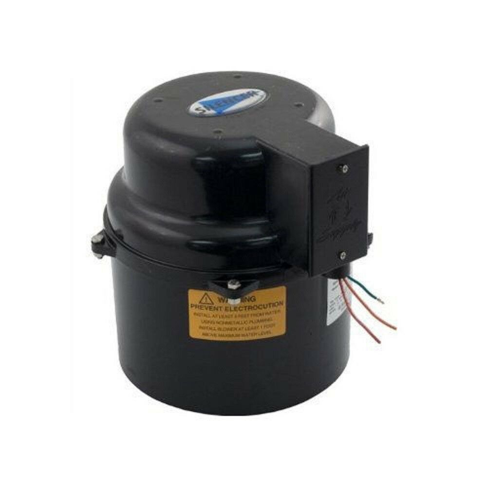 Air Supply 6316220F 1.5HP 220V Silencer Blower