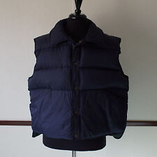 Mens Northwest Territory Blue / Green Down Fill Puffer Winter Vest Sz XL