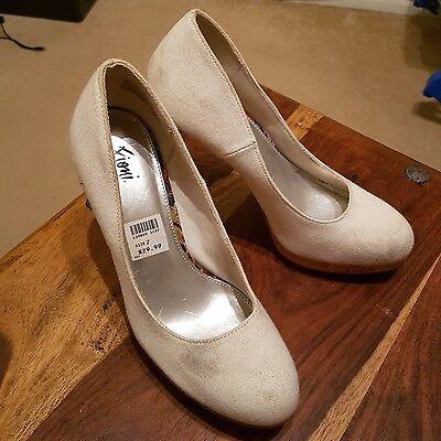 Tribunal Zapatos De Lona Blanca Fioni